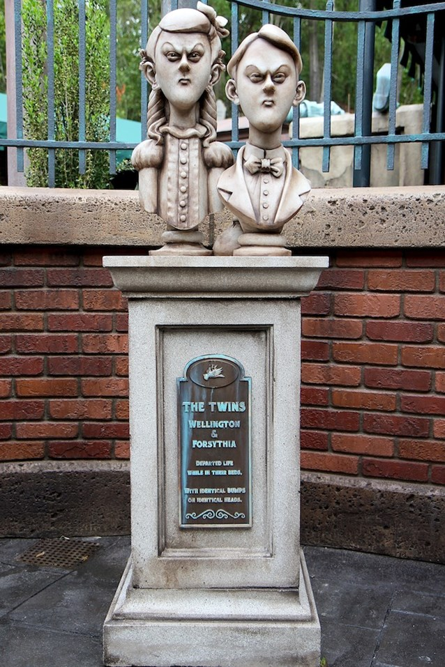 Haunted Mansion - The Twins Wellington and Forsythia