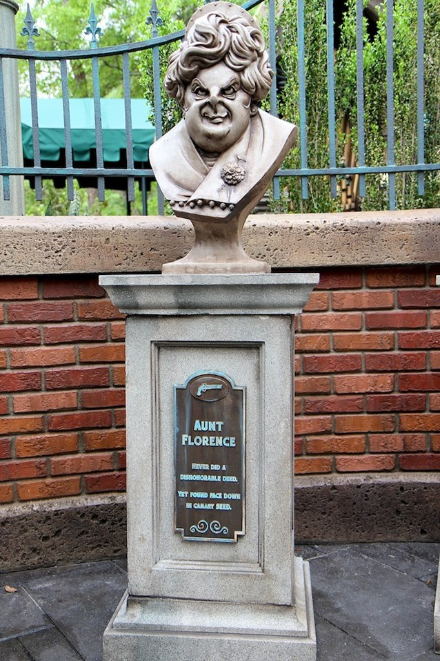 Haunted Mansion - Aunt Florence