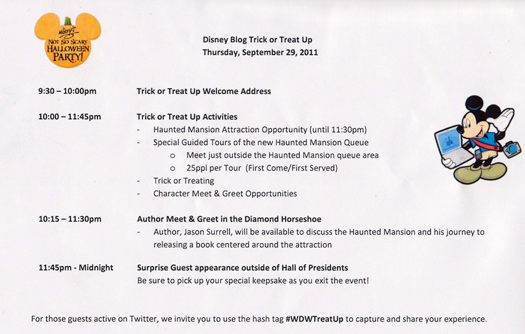 Disney Parks Blog Trick or Meet-Up