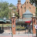 Haunted Mansion - New Haunted Mansion entrance signs