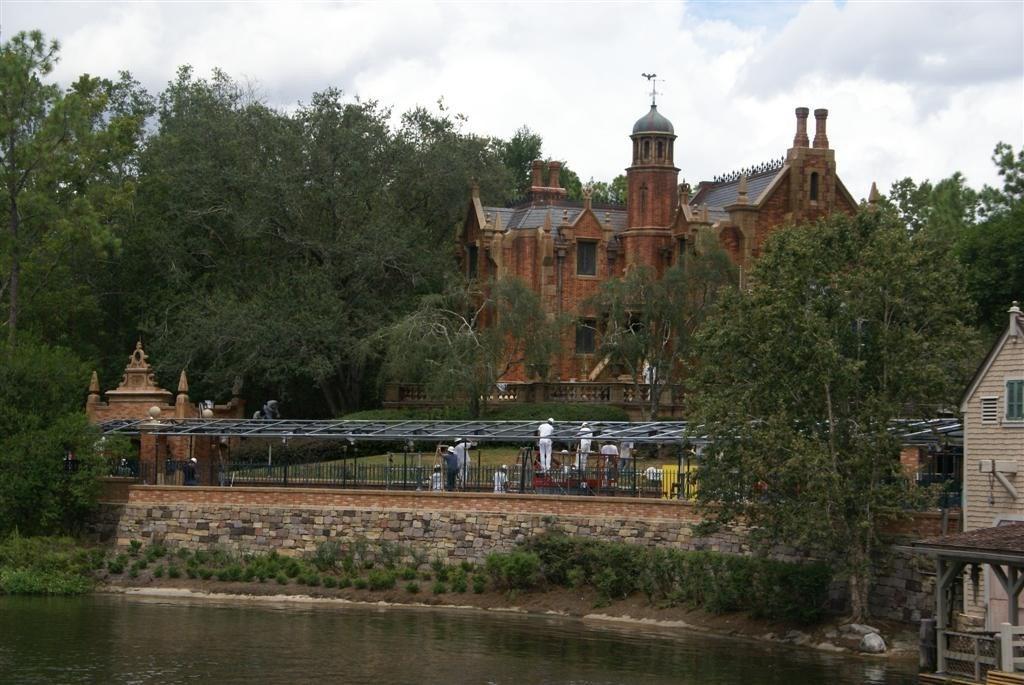 Haunted Mansion refurbishment photos