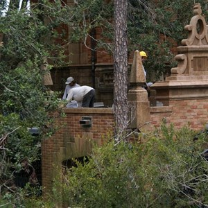 10 of 22: Haunted Mansion - Haunted Mansion refurbishment photos