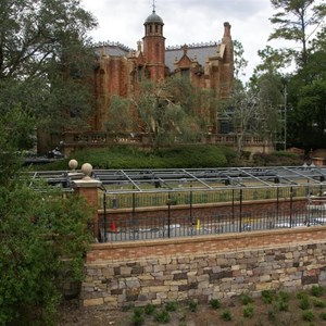 14 of 22: Haunted Mansion - Haunted Mansion refurbishment photos