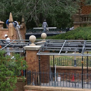 15 of 22: Haunted Mansion - Haunted Mansion refurbishment photos