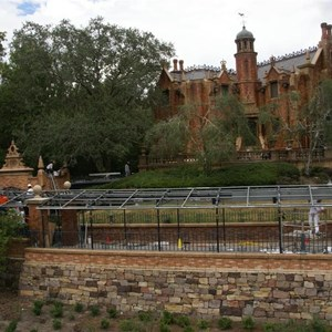 16 of 22: Haunted Mansion - Haunted Mansion refurbishment photos