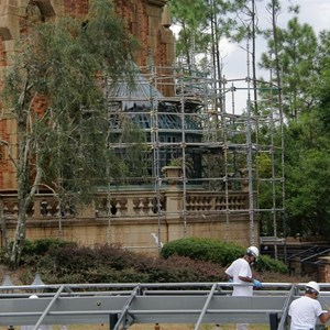 17 of 22: Haunted Mansion - Haunted Mansion refurbishment photos