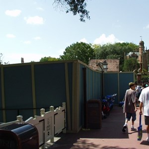 2 of 2: Haunted Mansion - FASTPASS installation at the Haunted Mansion