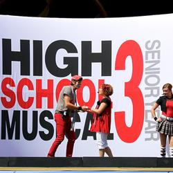High School Musical 3 on Summer Nightastic stage