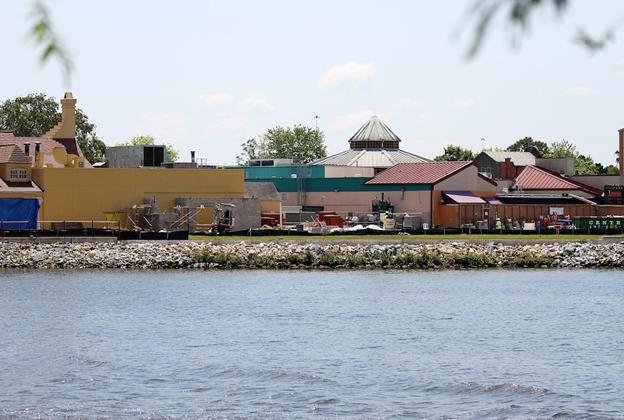 Park area construction