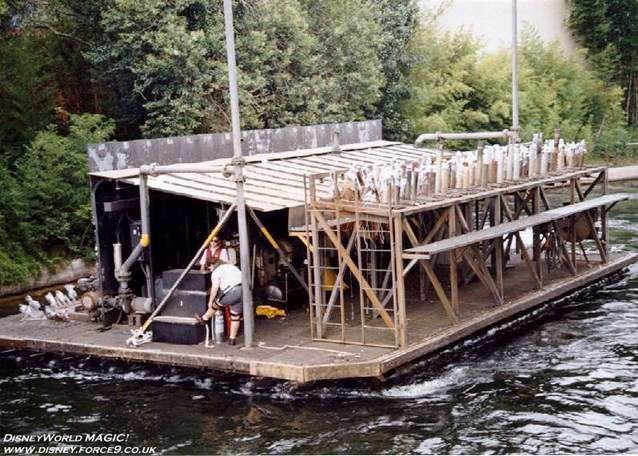 IllumiNations - The Maxi Barge.