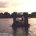 IllumiNations - The new Bernie Barges (named after their designer) built for IllumiNations 25.