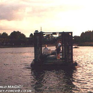 15 of 37: IllumiNations - The new Bernie Barges (named after their designer) built for IllumiNations 25.