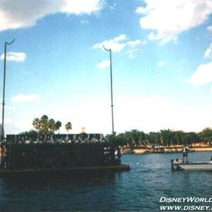9 of 37: IllumiNations - Each Maxi Barge faces a quarter of the World Showcase area.