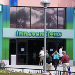 2 of 2: Innoventions - New entry sign progress