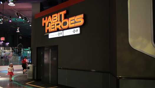 Epcot's Habit Heroes now permanently closed at Innoventions