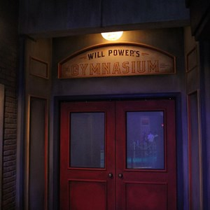 2 of 4: Innoventions - The queue area and entrance to the gym