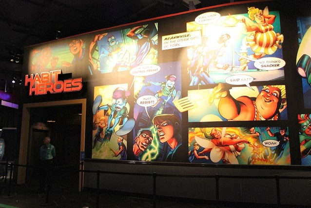 Innoventions - Habit Heroes entrance