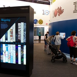 8 of 16: Innoventions - IBM THINK exhibit at Epcot  Innoventions - Inside with the touch screens