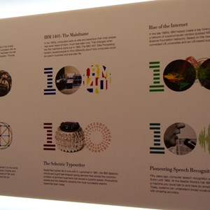 9 of 16: Innoventions - IBM THINK exhibit at Epcot  Innoventions - IBM milestones