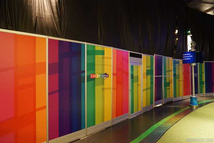 Colortopia construction walls