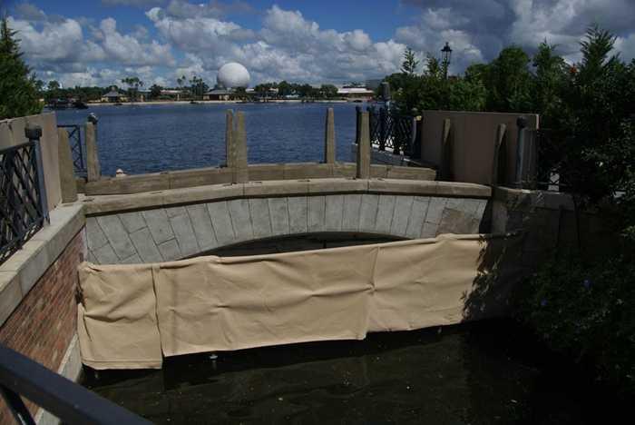 Isola bridge refurbishment