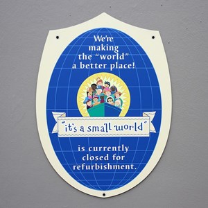 2 of 2: it's a small world - Exterior refurbishment