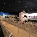 It&#39;s A Small World - The queue moves down to the dock via the old exit ramp