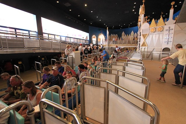 it's a small world - New air gates at the loading dock