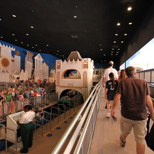 9 of 10: it's a small world - The exit ramp to leave the building (using the old entry ramp)