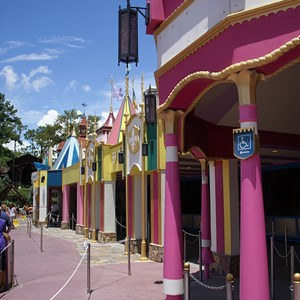 3 of 3: it's a small world - It's A Small World exterior refurbishment