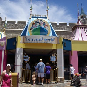 1 of 3: it's a small world - It's A Small World exterior refurbishment