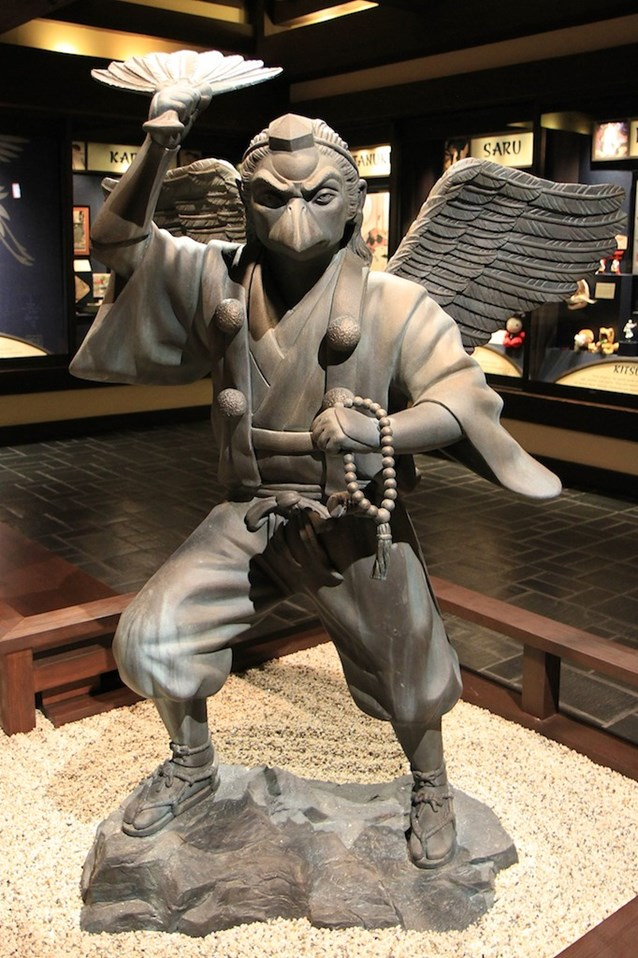 Japan (Pavilion) - The Slayer of Vanity statue