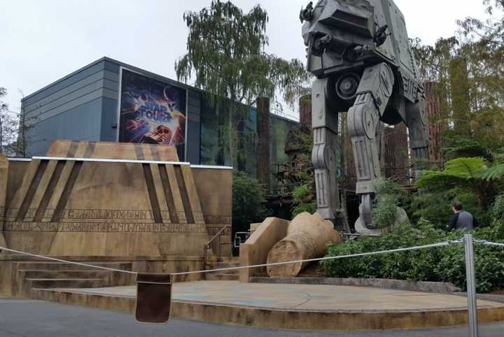 PHOTO - Walls down to reveal new stage at Jedi Training - Trials of the Temple