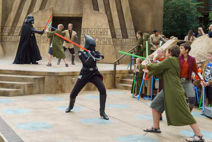 VIDEO - Jedi Training Trials of the Temple arrives at Disney's Hollywood Studios
