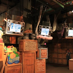 3 of 4: Jim Henson's MuppetVision 3-D - Post refurbishment exterior and pre-show area