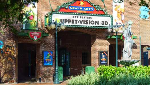 MuppetVision 3D closed for refurbishment