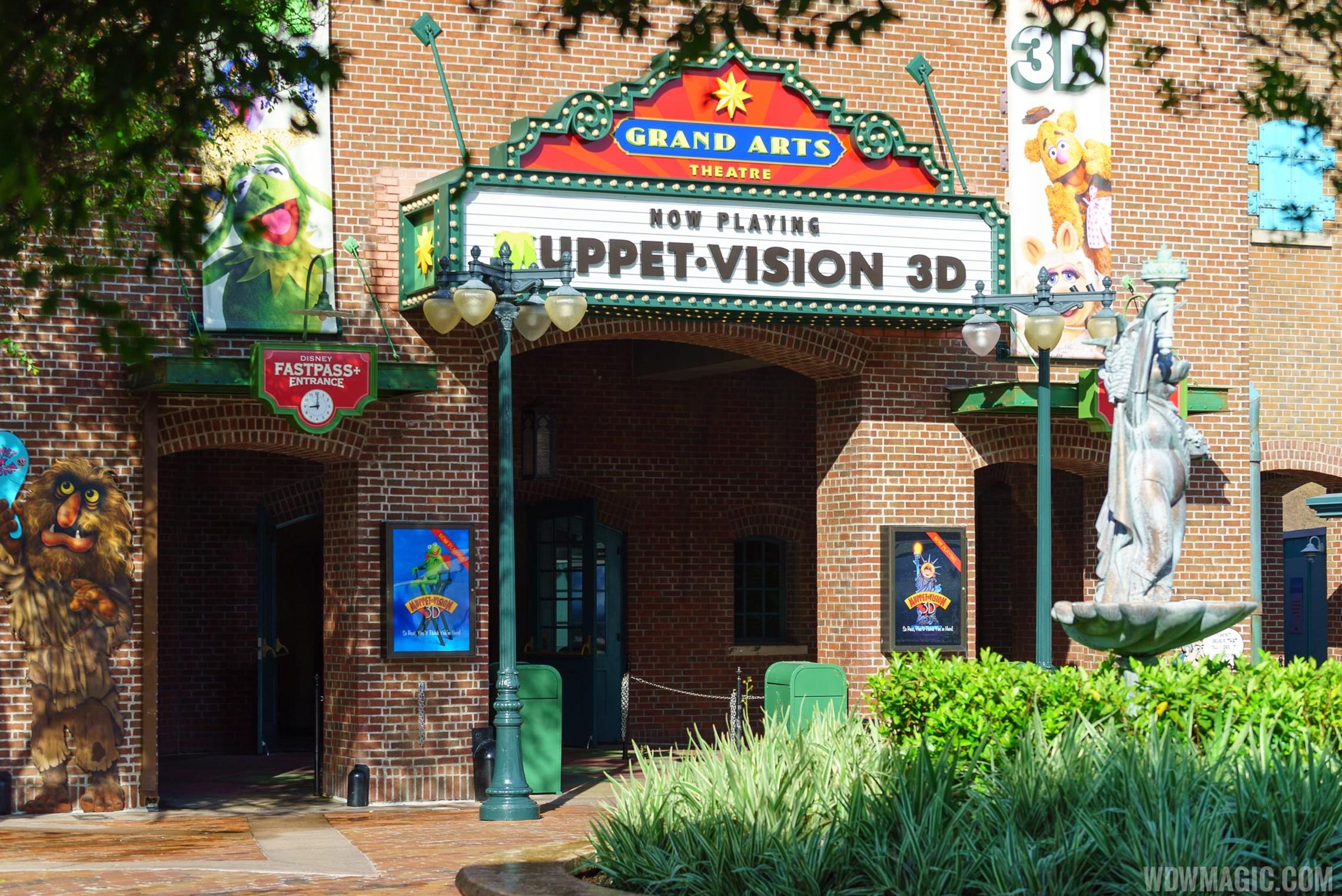 MuppetVision 3D closed for refurbishment