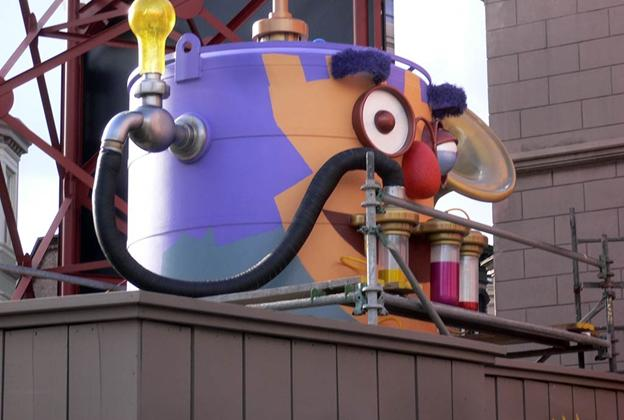 Top Secret FX Gen-R8-R installed in the Muppets queue