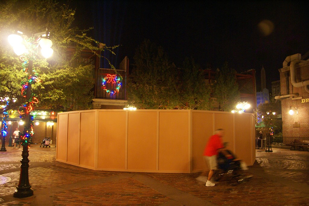 Muppets statue fountain refurbishment