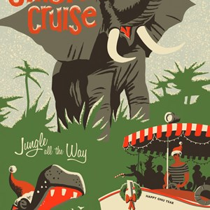 1 of 2: Jungle Cruise - Jingle Cruise poster