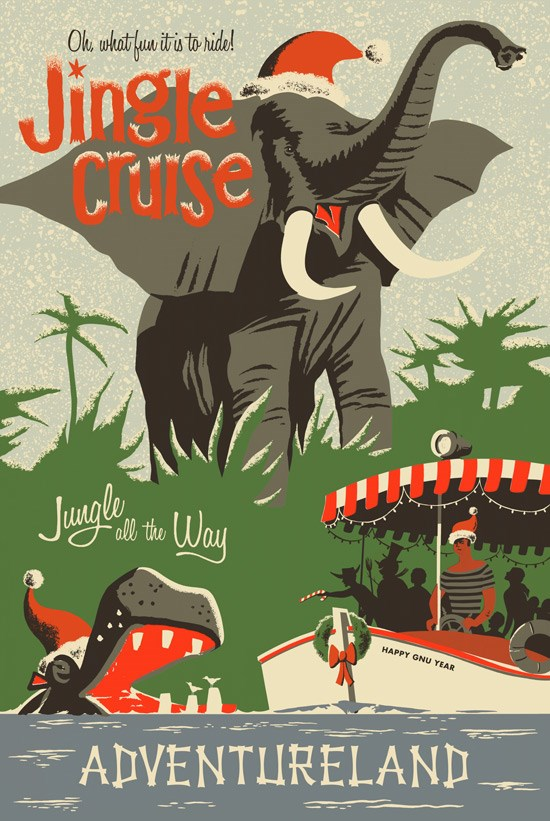 Jungle Cruise - Jingle Cruise poster