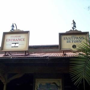2 of 3: Jungle Cruise - Jungle Cruise refurbishment