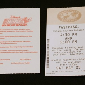 1 of 1: Kilimanjaro Safaris - New Kilimanjaro FASTPASS tickets