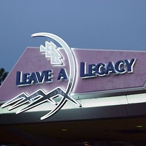 3 of 3: Leave a Legacy - Completed area