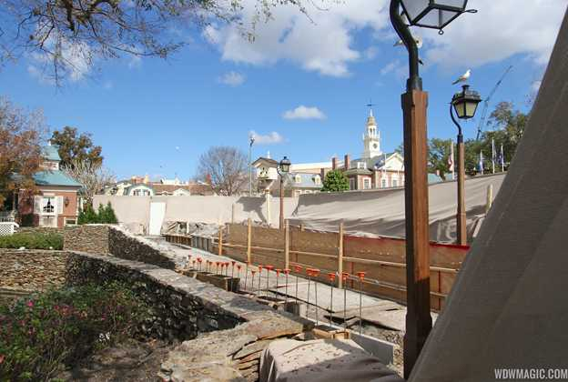 Liberty Square walkway expansion