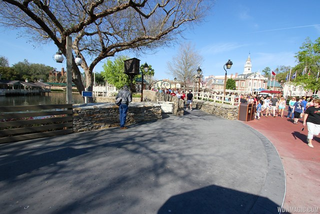 The new Liberty Square walkway is now open