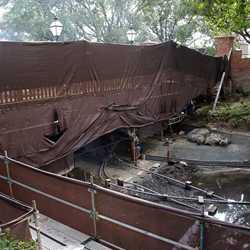 Liberty Square bridge construction update