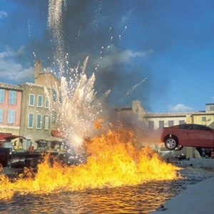 1 of 1: Lights, Motors, Action! Extreme Stunt Show - Lights, Motors, Action concept art