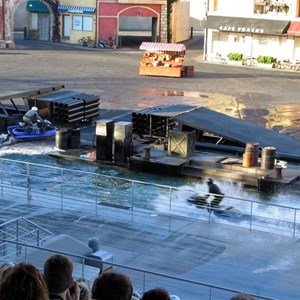 2 of 3: Lights, Motors, Action! Extreme Stunt Show - Jetskis make appearance in the show