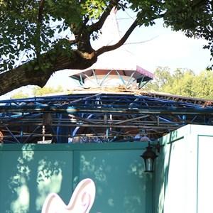 2 of 3: Mad Tea Party - Refurbishment roof work